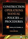 Construction Operations Manual of Policies and Procedures 9780071354950