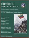 Studies in Intelligence, 2006, , 0160764955