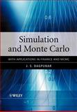 Simulation and Monte Carlo : With Applications in Finance and MCMC, Dagpunar, J. S., 0470854952