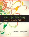 College Reading and Study Skills, McWhorter, Kathleen T., 0205734952