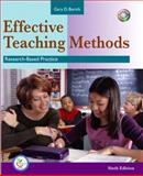 Effective Teaching Methods : Research-Based Practice, Borich, Gary D., 0131714961