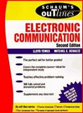 Schaum's Outline of Electronic Communication, Temes, Lloyd and Schultz, Mitchel, 0070634963