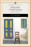 Poetry : A Pocket Anthology, Gwynn, R. S., 0321244966