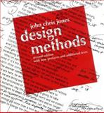 Design Methods, Jones, John Chris, 0471284963