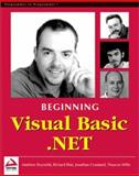 Beginning Visual Basic.NET 9781861004963