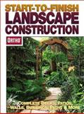 Start-to-Finish Landscape Construction, Ortho, 089721496X