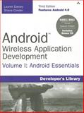 Android Wireless Application Development, Lauren Darcey and Shane Conder, 0321814967