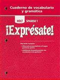 Expresate 2, Holt, Rinehart and Winston Staff, 0030744962