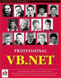Professional VB.NET, Hollis, Billy and Lhotka, Rocky, 1861004974