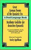 Great German Poems of the Romantic Era, , 0486284972