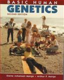 Basic Human Genetics, Mange, Elaine J. and Mange, Arthur P., 0878934979