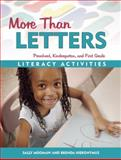 More Than Letters, Sally Moomaw and Brenda Hieronymus, 1884834981