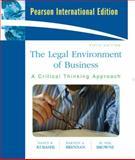 Legal Environment of Business, Nancy K. Kubasek and Bartley A. Brennan, 0137154984
