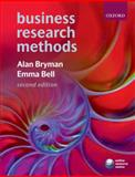 Business Research Methods, Bryman, Alan and Bell, Emma, 0199284989