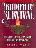 Triumph of Survival, Berel Wein, 0899064981