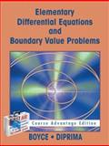 Elementary Differential Equations with Boundary Value Problems / Course Advantage Edition with Student Solutions Manual Set, William E. Boyce, 0471654981