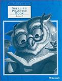 Spelling Practice Book, HARCOURT SCHOOL PUBLISHERS, 0153234989