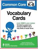 Common Core Vocabulary Cards, Velerion Damarke, 1500674990