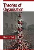 Theories of Organization, Tosi, Henry L., 1412924995