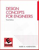 Design Concepts for Engineers, Horenstein, Mark N., 013146499X