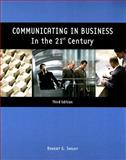 Communicating in Business in the 21st Century, Insley, Robert G., 0536514992