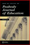 Newly Emerging Global Issues : A Special Issue of the Peabody Journal of Education, , 0805894993