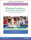 Effective Practices in Early Childhood Education, Bredekamp, Sue, 0133404994