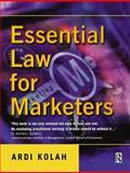 Essential Law for Marketers, Kolah, Ardi, 0750655003