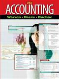 Accounting, Warren, Carl S. and Reeve, James M., 0538475005