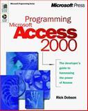 Programming Microsoft Access 2000, Dobson, Rick, 0735605009
