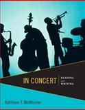 In Concert : Reading and Writing with NEW MySkillsLab with EText -- Access Card Package, McWhorter, Kathleen T., 0321915003