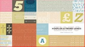 New Typefaces : Hoefler and Frere-Jones Catalog of Typefaces, No. 10, Hoefler, 0615285007