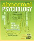 Abnormal Psychology, Beidel, Deborah C. and Bulik, Cynthia M., 0205205011