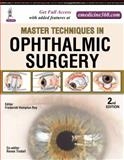 Master Techniques: Ophthalmic Surgery, Roy, Frederick Hampton, 9351525015