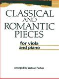 Classical and Romantic Pieces for Viola and Piano, Forbes, Watson, 0193565013