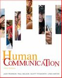 Human Communication, Pearson, Judy C. and Nelson, Paul E., 0073385018