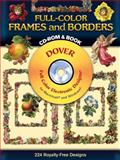 Full-Color Frames and Borders, Dover Staff, 0486995011