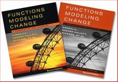 Functions Modeling Change, Textbook and Student Solutions Manual : A Preparation for Calculus, Connally, Eric and Hughes-Hallett, Deborah, 0471655015