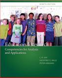 Educational Research : Competencies for Analysis and Applications, Gay, Lorrie R. and Mills, Geoffrey E., 0135035015
