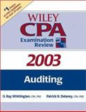 Wiley CPA Examination Review 2003, Auditing, Delaney, Patrick R., 0471265012