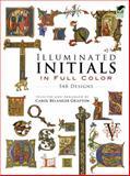 Illuminated Initials in Full Color, , 0486285014