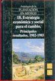 Antología de la Planeación en México 1917-1985, 18 9789681655020