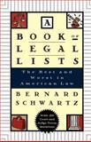 A Book of Legal Lists, Bernard Schwartz, 0195125029