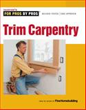 Trim Carpentry, Fine Homebuilding Staff and Clayton DeKorne, 1600855024