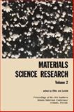 Materials Science Research Series, , 0306385023