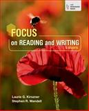 Focus on Reading and Writing : Essays, Kirszner, Laurie G. and Mandell, Stephen R., 1457665026