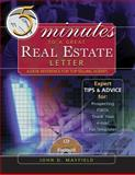 Five Minutes to a Great Real Estate Letter : A Desk Reference for Top-Selling Agents, Mayfield, John D., 032423502X