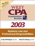 Wiley CPA Examination Review 2003, Business Law and Professional Responsibilities, Delaney, Patrick R., 0471265039
