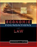 Economic Foundations of Law, Spurr, Stephen, 032427503X