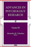 Advances in Psychology Research, Vol. 64, Columbus, Alexandra, 1607415038